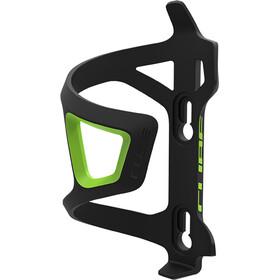 Cube HPP-Sidecage Flaskeholder, black/green